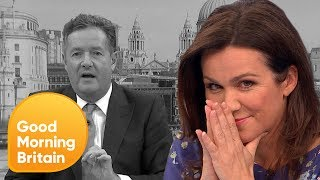 Susanna Reid Bites Back Over 'Man-Up' Comments | Good Morning Britain
