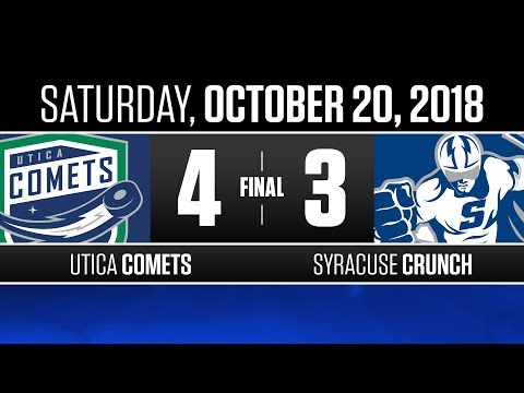 Comets vs. Crunch | Oct. 20, 2018