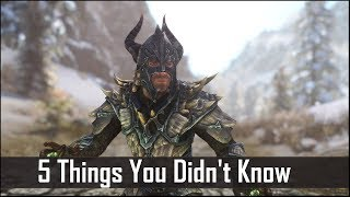 Skyrim: 5 Things You Probably Didn't Know You Could Do - The Elder Scrolls 5: Secrets (Part 7)