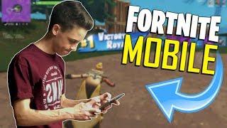 FAST MOBILE BUILDER on iOS / 455+ Wins / Fortnite Mobile + Tips & Tricks!