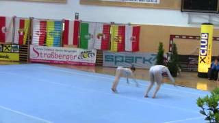 preview picture of video 'NÖ LM Sportakrobatik 2014 - Samstag Nr.04 Offene B W2 Union Horn'