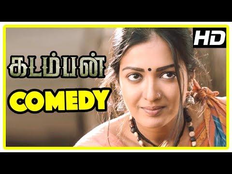 Kadamban Tamil Movie   Full Movie Comedy   Arya   Catherine Tresa   Yuvan Shankar Raja