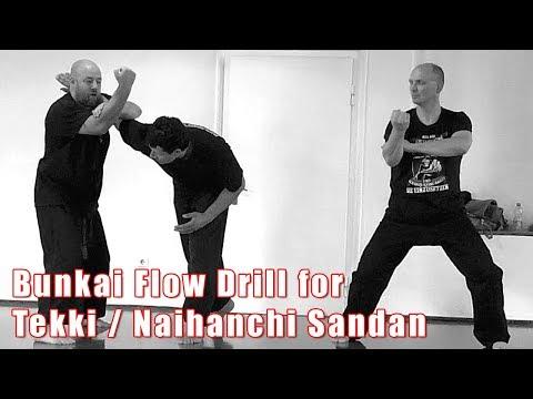 Practical Kata Bunkai: Tekki / Naihanchi Sandan Full Kata Flow Drill