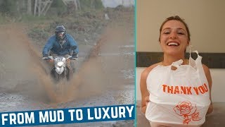 Dual Sport Riding to Eating Teriyaki In a Tub for Two   Trayvax Adventure