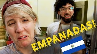 My Drunk Kitchen: Empanadas de Plátano  ft. Buzzfeed Curly! - Video Youtube