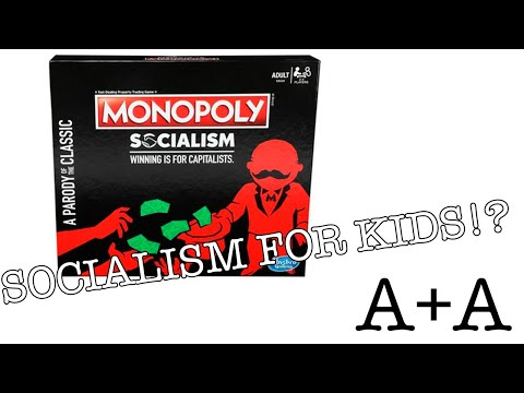 Download Is this MONOPOLY game teaching SOCIALISM to KIDS?? - A Look at Monopoly Socialism Mp4 HD Video and MP3
