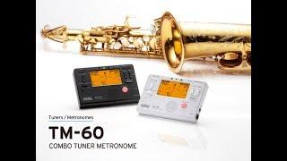 Korg TM60-BK - Video