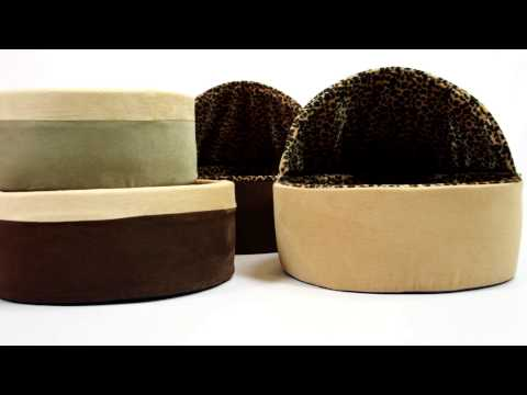 """K&H Thermo-Kitty Bed Sage 16"""" Video"""