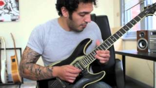 How to play 'We Are The Nightmare'  by Arsis Guitar Solo Lesson