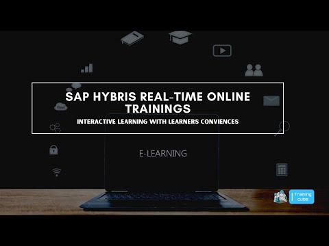 SAP HYBRIS REAL TIME ONLINE TRAINING TRAINING CUBE ...