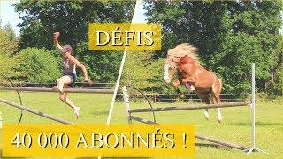 JE DÉFIE MON PONEY !!! - Puissance spéciale 40 000 abonnés