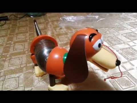 Toy Story - Review de Perrito Slinky de Toy Story  (Perro resorte) Disney