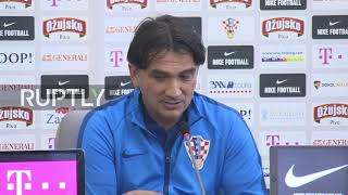 Russia: Croatian manager dodges question on nationalist Ukrainian slogan after Russia win