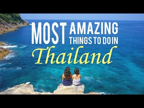 Video Most Amazing Things to Do in Thailand