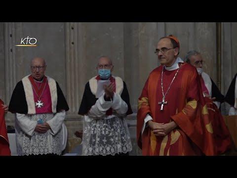 Cardinal Barbarin : L'au-revoir à Lyon