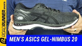 Mens ASICS GEL-Nimbus 20 | Fit Expert Review