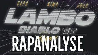 CAPO   LAMBO DIABLO GT Ft. NIMO & JUJU (Remix) Musikanalyse Und Meine Meinung #capimo