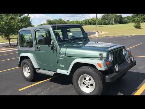 1999 Jeep Wrangler Sport 2dr 4WD SUV in Big Bend, Wisconsin - Video 1