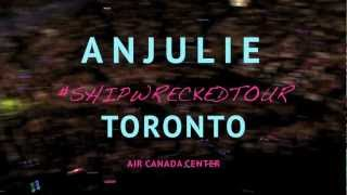 Backstage with Anjulie