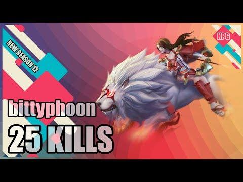 HoN Pro Forsaken Archer Gameplay - bittyphoon - Diamond - CM