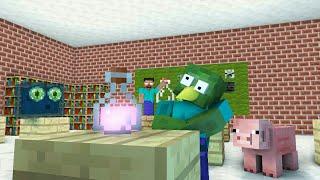 Monster School - LOL BREWING - Minecraft Animation