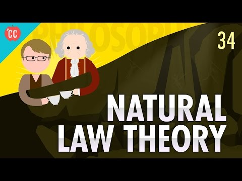 Natural Law Theory: Crash Course Philosophy #34