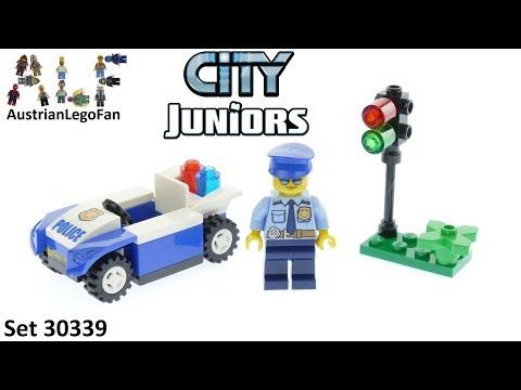 Vidéo LEGO Juniors 30339 : La police de la circulation (Polybag)