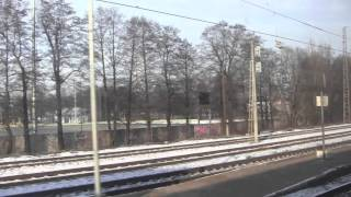 preview picture of video 'Leaving Riga by Train, Latvia - 15th January, 2014'
