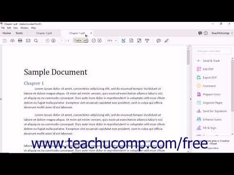 Adobe Acrobat Pro DC Training Tutorial Course - YouTube