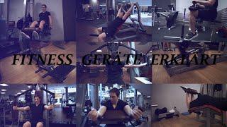 Fitnessstudio Geräte richtig benutzen