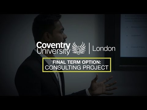 Work Related Projects – Consulting Project