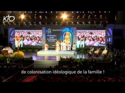 Non à la colonisation idéologique de la famille