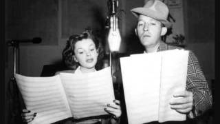 Mine - Bing Crosby & Judy Garland
