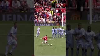 The last goal Cristiano Ronaldo scored in the Premier League for Manchester United