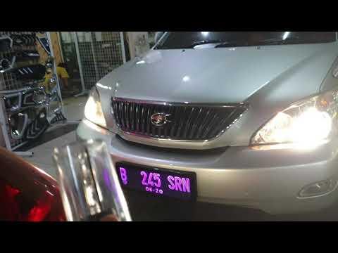 Toyota harrier alphard Vellfire camry corolla solusi lampu mobil terang fokus no silau Auto1 HID Pro