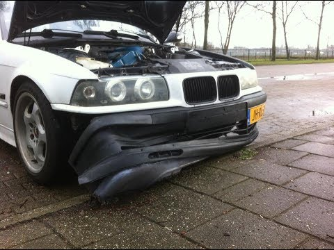 BMW e36 318is m42 coupe only chip and 205/50/15 - смотреть