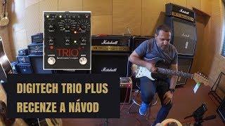 RECENZE a návod DIGITECH Trio Plus - Basák, bubeník a looper v jedné krabičce|DUŠAN je tu JAKODOMA