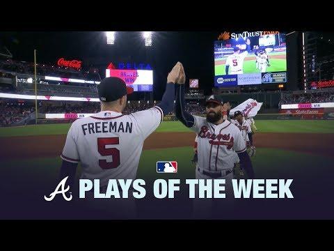 6/24/19: Braves Plays of the Week!