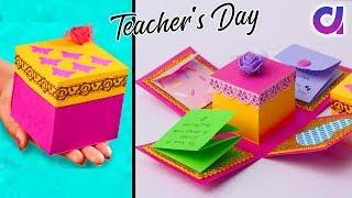 DIY Teacher's Day Explosion Box Idea | Handmade Gift Idea | Artkala