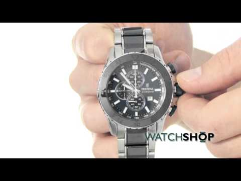 Festina Men's Ceramic Chronograph Watch (F16628/2)