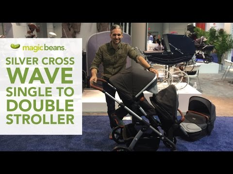 Silver Cross Wave | Single to Double Stroller | Best Most Popular | Reviews | Ratings