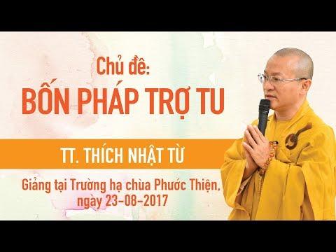 Bốn phương pháp trợ tu (16/12/2012) Thích Nhật Từ