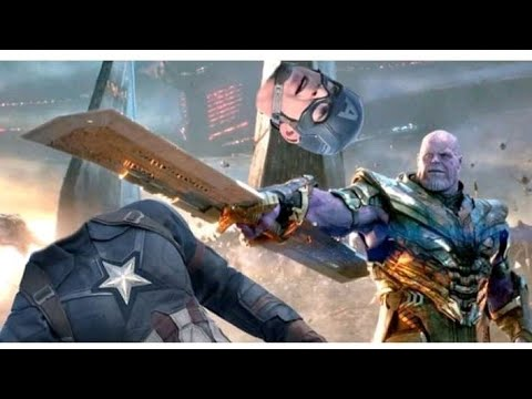 Avengers Endgame Deleted Scene | Captain America Vs Thanos
