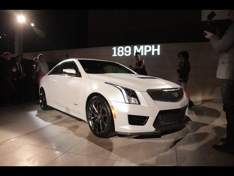 2016 Cadillac ATS-V Coupe - 2014 LA Auto Show