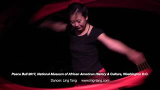 Chinese Ribbon Dance by Ling Tang