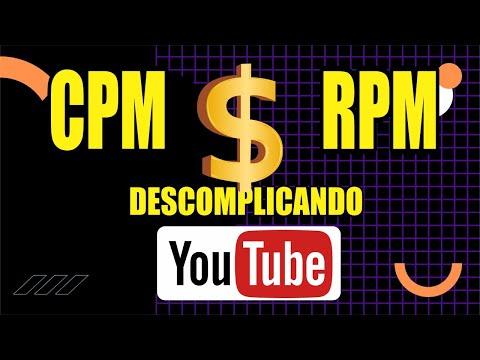 CPM e RPM do canal do youTube EXPLICADO DE FORMA SIMPLES 2021