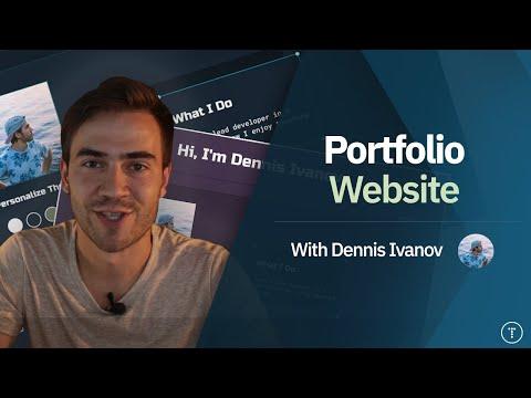 Build a Portfolio Website & Deploy