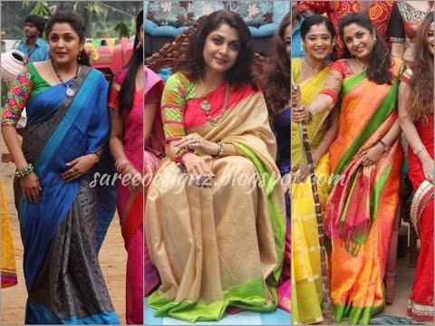 Ramya Krishna Saree Collection