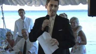 Nate's Best Man Speech