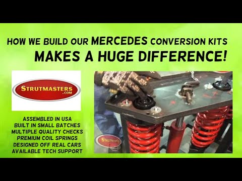 1999-2006 Mercedes Benz S430 Rear Air Suspension Conversion Kit Build